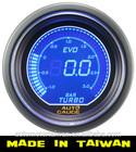 52mm Auto meter(Taiwan)Digital Blue / Red LCD auto meter boost gauge