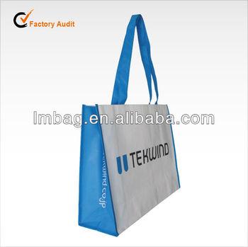 Bopp laminated reusable shopping bag