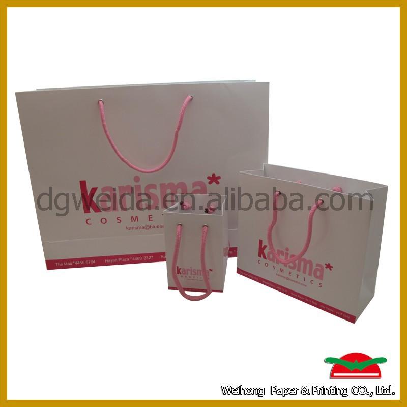 Eco- มิตรของขวัญงานฝีมือถุงกระดาษ, ถุงกระดาษสำหรับบรรจุภัณฑ์ของขวัญ