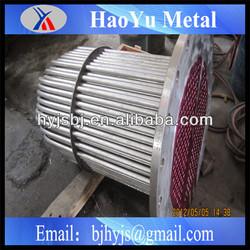 industry chemical petroleum ocean used titanium tube heat exchanger