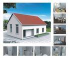 Modular new style prefab house