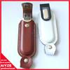 2013 New Corporate Company Gift New Shape Leather4GB 8GB USB Flash Drive