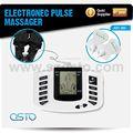 Alleviare il dolore spalla macchina, mal di schiena massaggio macchina portatile impulso elettronico massaggiatore con pantofola(ce rohs)