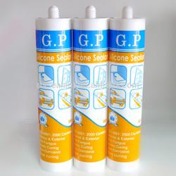 Durable aquarium silicone adhesive sealant