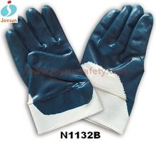 Nitrile gloves working safety glove blue nitrile coated gloves