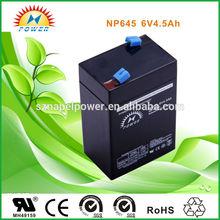 6V4.5AH SMF lead acid battery