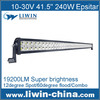 new high quality 240w 24 inch led light bar offroad radius led light bar led light bars for off-road
