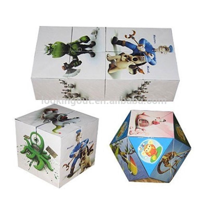 print custom making promotional magic puzzle cube