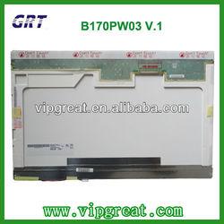 "17.0""CCFL B170PW03 V.1 Laptop lcd panel"