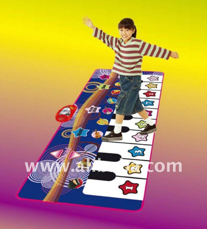 WH8013 FOOT PIANO MAT, FLOOR KEYBOARD PLAYMAT