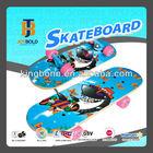 Pro Kids' PVC wheels 28'' Chinese maple skateboard