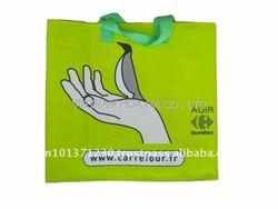 pp woven shopping bag, shop bag, reusable tote,vietnam