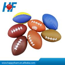 Rugby shape pu stress ball,cheap stress ball