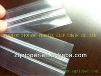 Plastic ziploc zipper for SU/MC/ZL bags