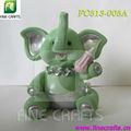 polyresin estátua de elefante enfeites de mesa