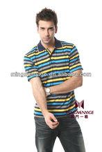 wholesale bangladesh popular style yarn dyed cotton men's t-shirt clothing