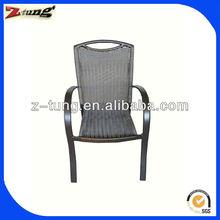 modern patio aluminum rattan cafe chair ZT-1093C