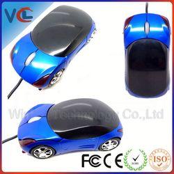 Car shaped VMM-45 wired 3d mouse shape ferrari car