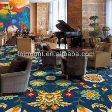 Floor Carpet Design With Fancy Logo AS001, Hotel Carpet.