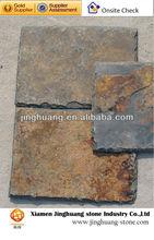 Rusty culture slate roof tiles
