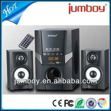 good price USB SD FM bluetooth 2.1 multimedia speaker, 2.1 computer speaker