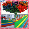 Colorful EPDM granules rubber price for sports surface-FL-G-V-152