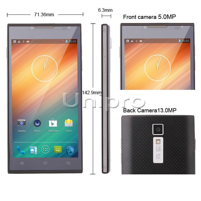 Doogee dg2014 dört çekirdekli 5.0 inç 1g/8g android 4.2 13MP cep telefonu