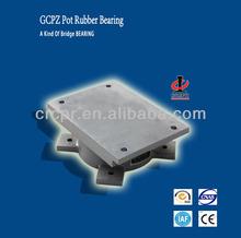 GCPZ high way, railway pot rubber bearing bridge bearing bridge pot bearing