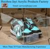 China supplier acrylic nike shoe box, High quality acrylic sneaker box, Alibaba Clear acrylic shoe box
