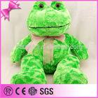 2014 Wholesale China Best Made Sitting Plush Stuffed Frog Animal