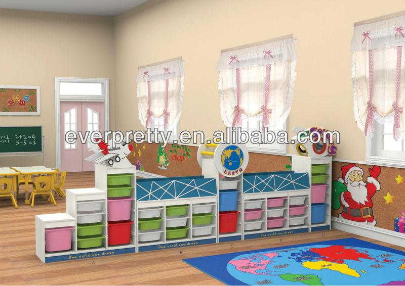 Kinderen houten berging speelgoed kast kinderen opbergkast ontwerpen voor kinderen archiefkasten - Houten bureau voor kinderen ...