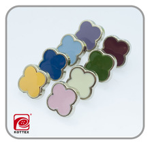 plastic button UV plating button for garment decoration wholesale sewing accessories