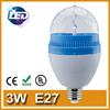 Rotating LED bulb LED light bulb LED lighting bulb LED RGB bulbs 3W