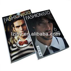 offset printing high quality vogue magazine,monthly magazine in China shenzhen