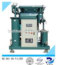 Water Rigid Granules Removing Used Transformer Oil Purifier Machine