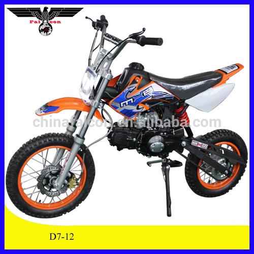 จักรยานสกปรก125ccสำหรับขายราคาถูก, มินิจักรยานสกปรก125cc, 125สิ่งสกปรกจักรยาน4จังหวะสำหรับการขาย( d7- 12)