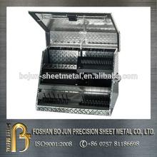 tray storage toolbox aluminium checker plate tool box
