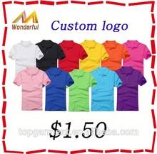 Factory direct wholesale cheap polo shirts 2014 custom made embroidery men polo t-shirt custom logo promotion t shirt polo
