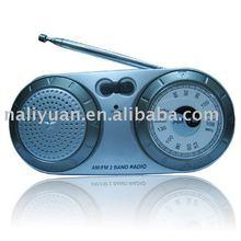Mini AM/FM 2 Band Radio with antenna