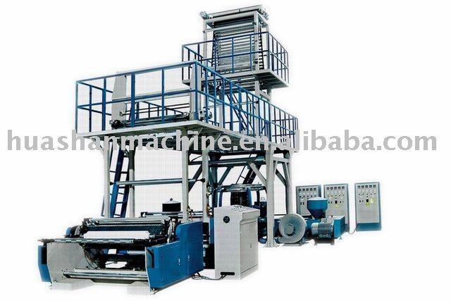 PE multy Layer pe film blown extruder,Plastic Film machine (3-Layer Co-extrusion)