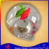 flashing high bouncing ball with fish and flashing light