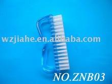 Plastic Nail Brush for Lady Salon