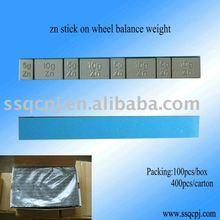 zn adhesive wheel balance weight