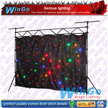 led decorative lights curtain light / LED Effect light / LED Stage light for wedding&fancy events or disco&night club