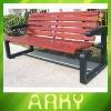 Steel Frame Wood Park Bench