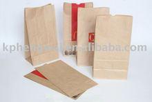 12# Machine Food Brown Kraft Paper Bag