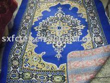 170*270cm 2.5kg black cotton Prayer Carpet