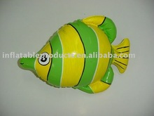 pvc inflatable fish animal