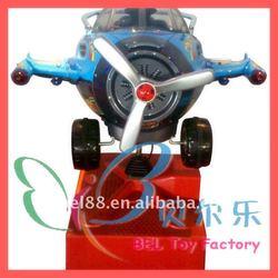 BEL-3112 New Arrive! Air Plane Kiddie Ride Toy Swing Set