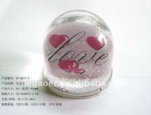 transparent snow globe insert picture